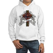 Ross Tartan Cross Jumper Hoody