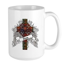 Ross Tartan Cross Mug
