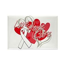 Retinoblastoma Love Hope Cure Rectangle Magnet