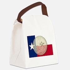 Texas Quarter 2004 Canvas Lunch Bag