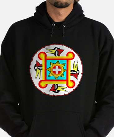SOUTHEAST INDIAN DESIGN Hoodie (dark)