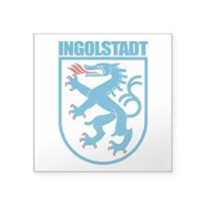 "Ingolstadt.png Square Sticker 3"" x 3"""