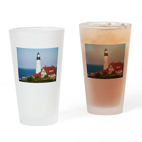 Portland Head Light2 Drinking Glass