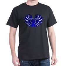 Anal Cancer Heart Wings T-Shirt