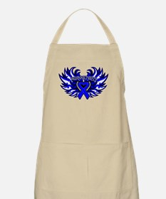 Anal Cancer Heart Wings Apron