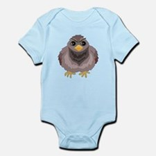 Fluffy Pigeon Infant Bodysuit