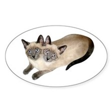 Siamese Twins Decal