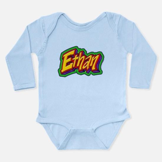 Ethan Personalized Long Sleeve Infant Bodysuit