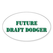 Future Draft Dodger Oval Decal