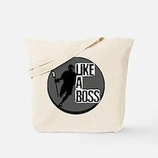 Lacrosse Like A Boss Tote Bag