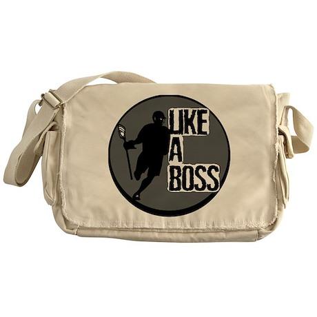 Lacrosse Like A Boss Messenger Bag