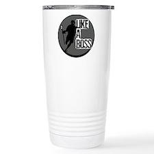 Lacrosse Like A Boss Travel Mug