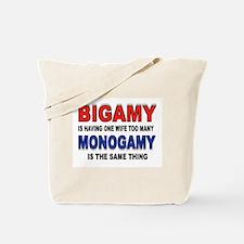 BIGAMY Tote Bag