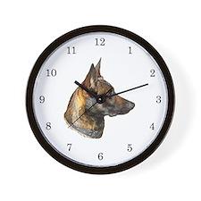 Malinois Wall Clock