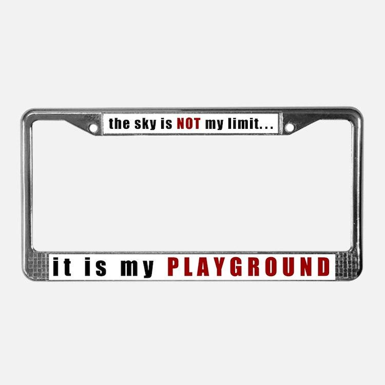 pilot licence plate frames pilot license plate covers. Black Bedroom Furniture Sets. Home Design Ideas
