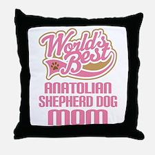 Anatolian Shepherd Dog Mom Throw Pillow