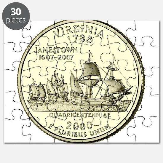 Virginia Quarter 2000 Basic Puzzle