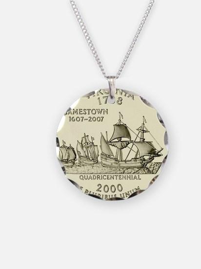 Virginia Quarter 2000 Basic Necklace
