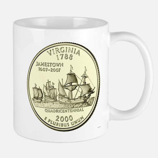 Virginia Quarter 2000 Basic Mug
