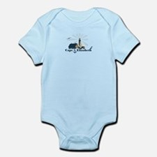 Cape Elizabeth ME - Lighthouse Design. Onesie