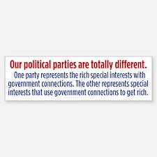 Difference Between Parties Sticker (Bumper)