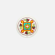 SOUTHEAST INDIAN DESIGN Mini Button
