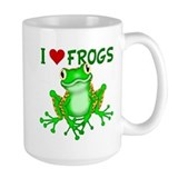 Frog Large Mugs (15 oz)