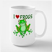 I Love (Heart) Frogs Mug