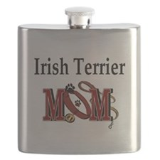 Irish Terrier Mom Flask