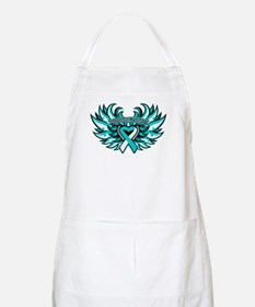 Cervical Cancer Heart Wings Apron