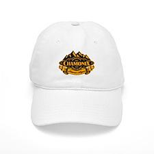 Chamonix Mountain Emblem Baseball Baseball Cap