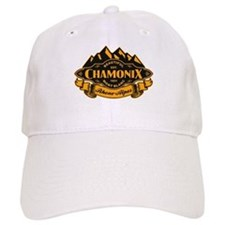 Chamonix Mountain Emblem Baseball Cap