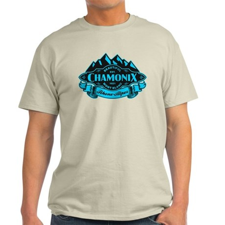 Chamonix Mountain Emblem Light T-Shirt