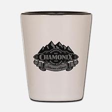 Chamonix Mountain Emblem Shot Glass