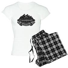 Chamonix Mountain Emblem Pajamas