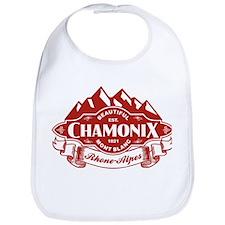 Chamonix Mountain Emblem Bib
