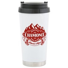 Chamonix Mountain Emblem Travel Mug