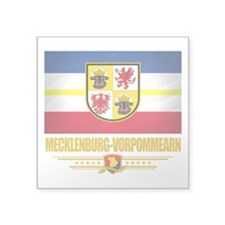 Mecklenburg-Vorpommern (Flag 10).png Square Sticke
