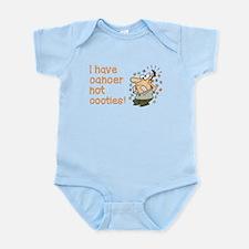 CANCER NOT COOTIES! Infant Bodysuit