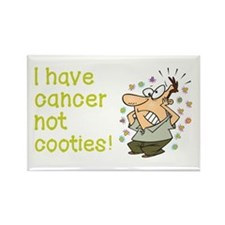 CANCER NOT COOTIES! Rectangle Magnet