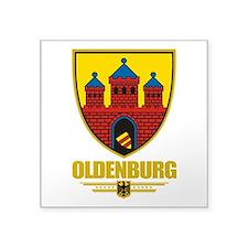 "Oldenburg COA.png Square Sticker 3"" x 3"""