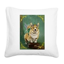 The Fairy Steed Square Canvas Pillow
