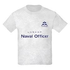 FL:CE Player UNSCDF Naval Officer Kids T-Shirt