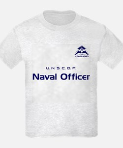 FL:CE Player UNSCDF Naval Officer Kids T-Shirt