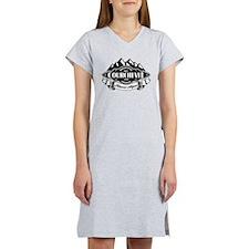 Courchevel Mountain Emblem Women's Nightshirt