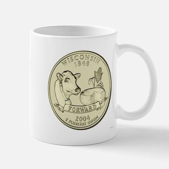 Wisconsin Quarter 2004 Basic Mug