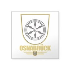 """Osnabruck COA.png Square Sticker 3"""" x 3"""""""