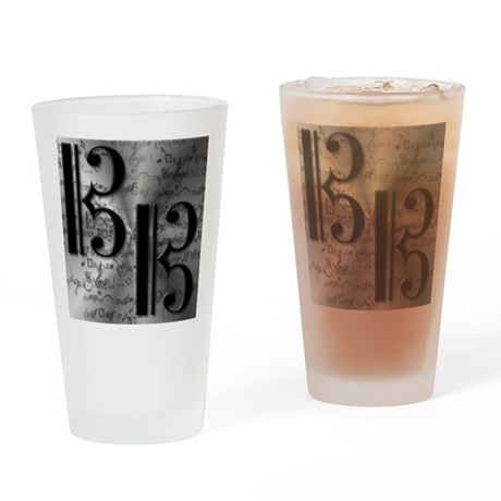 AltoClefCafePress.png Drinking Glass