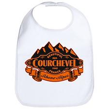 Courchevel Mountain Emblem Bib