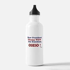 President Won Ohio! Water Bottle